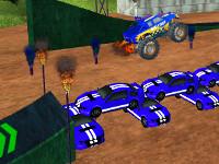 Online hra Stunt Monster 3D
