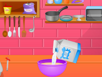 Online Game Cook Tasty Cake