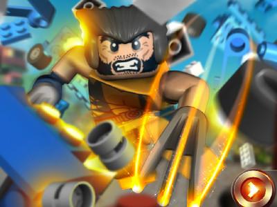Juego en línea LEGO Marvel X-Men Wolverine