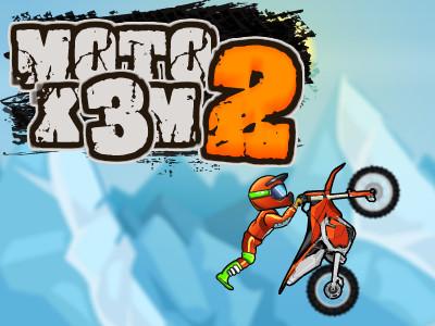 Online hra Moto X3M 2