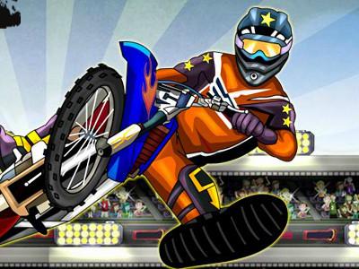 Juego en línea MotoX Stunt Master
