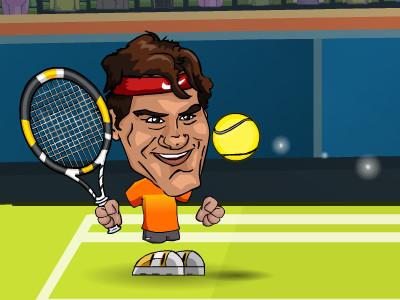 Juego en línea Tennis Legends 2016