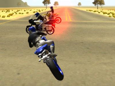 Online hra 3D Moto Simulator 2