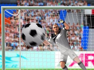 Online hra 3D Penalty