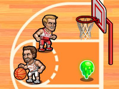 Juego en línea Basketball Fury