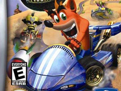 Online hra Crash Nitro Kart