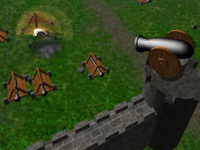 Juego en línea Defender of Tower: Attack of War Machines