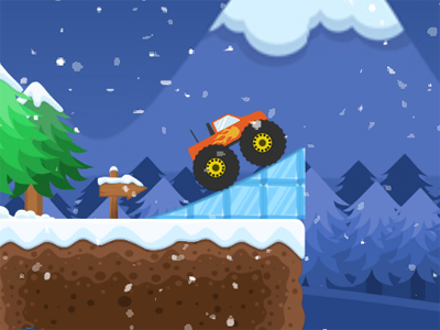 Monster Truck Winter Jumps