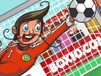 Online hra Ragdoll Goalie