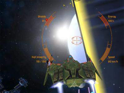 Online hra Space Merchants: Arena