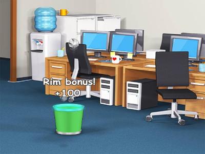Online hra Toss a Paper Multiplayer