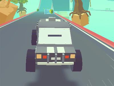 Juego en línea 3D Monster Truck SkyRoads