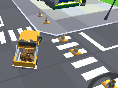 Online hra Cargo Carrier: Low Poly