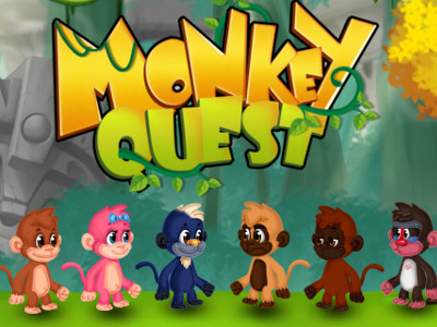 Online hra Monkey Quest