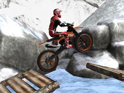 Juego en línea Moto Trials Winter