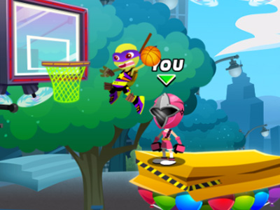 Online hra Nick Basketball Stars 2