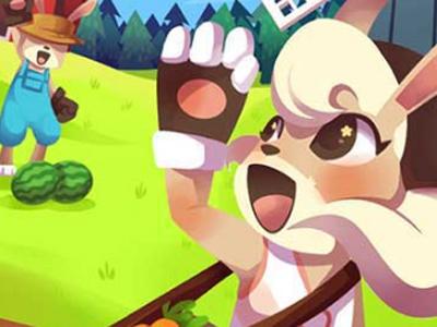 Online hra Rapid Rabbit Rush