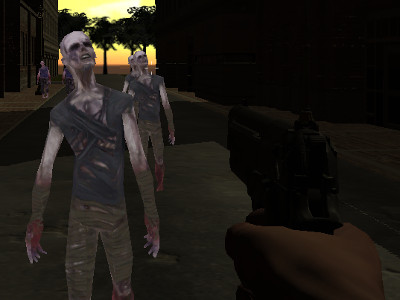 Online Game Rise of the Zombies