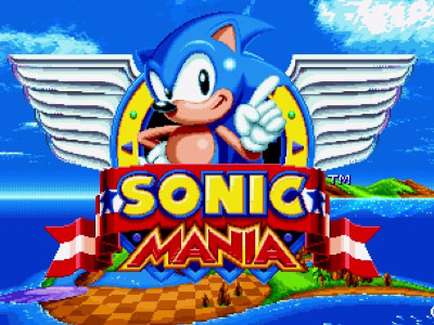 Online hra Sonic Mania Edition