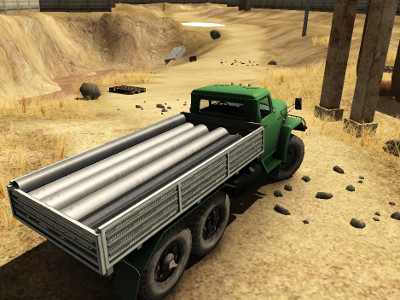 Online Game Truck Driver Crazy Road 2