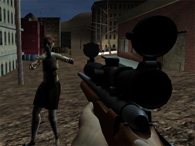 Juego en línea Valley Gun Zombies