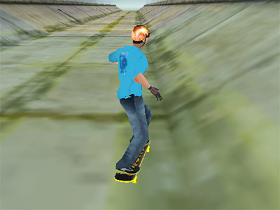 Online hra Amazing Skater 3D