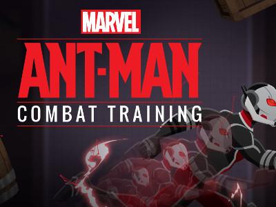 Juego en línea Ant-Man: Training Combat