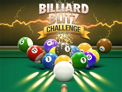 Juego en línea Billiard Blitz Challenge