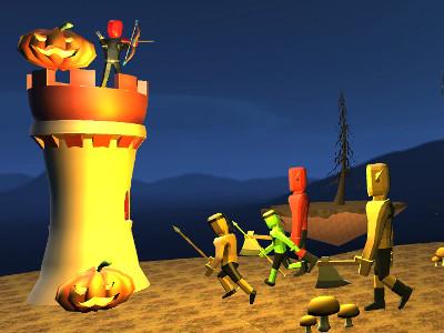 Juego en línea Halloween Archer 3D