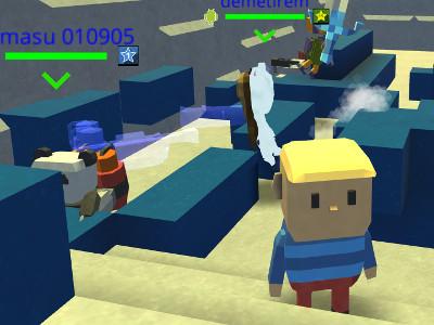 Juego en línea Kogama: Temple of Doom