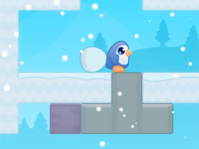 Online hra Penguin Quest