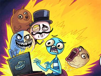 Juego en línea Trollface Quest Internet Memes
