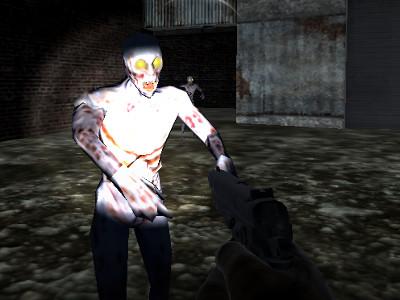 Juego en línea Zombie Match