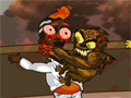Online hra Brainless Monkey Rampage
