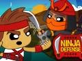 Juego en línea Ninja Defense