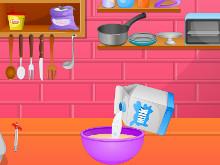 Juego en línea Cook Tasty Cake