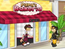 Juego en línea Papa's Bakeria