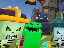 Online hra Blocky Fantasy Battle Simulator