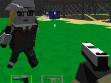 Online hra Cube Arena Zombie Warfare