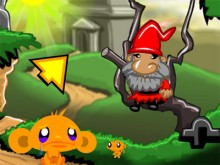 Online hra Monkey GO Happy Devils Gold