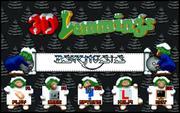 3D Lemmings Winterland